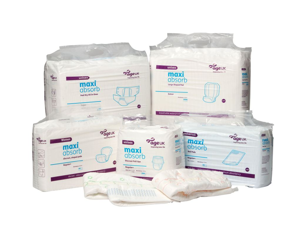 Living in a nursing home and using Incontinence Pads?