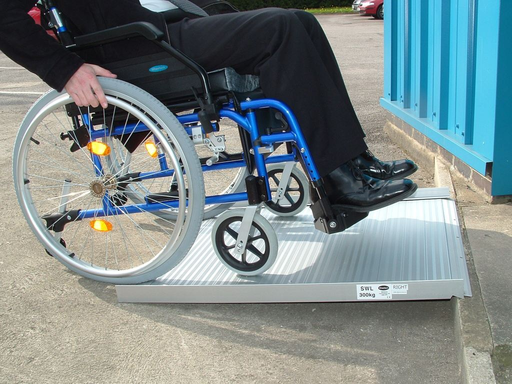 Why won't wheelchairs always go where you want them to?